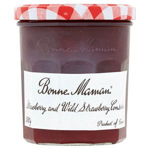 Bonne Maman Strawberry And Wild Strawberry Jam