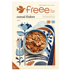 Doves Farm Organic Gluten Free Cereal Flakes