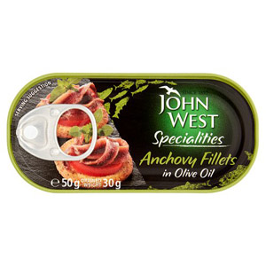 John West/Princes Anchovies in Olive Oil