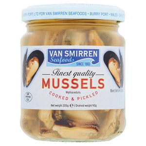Van Smirren Mussels in Vinegar