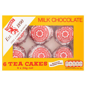 Tunnocks Chocolate Teacakes 6 Pack