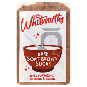 Whitworths Dark Brown Soft Sugar