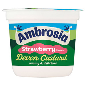 Ambrosia Strawberry Custard