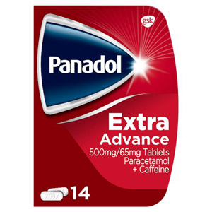 Panadol Extra Advance 14 Tablets