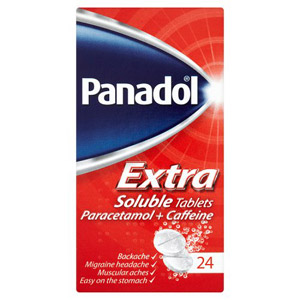 Panadol Extra Soluble 24 Tablets