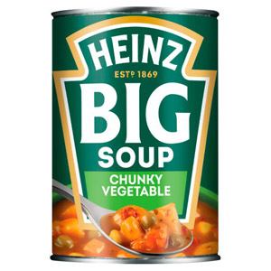 Heinz Big Soup Chunky Vegetable Soup