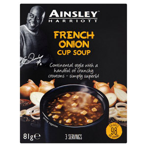 Ainsley Harriott Cup a Soup French Onion 3 Pack
