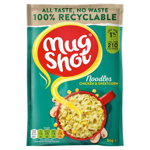 Mug Shot Noodle Snack Chicken & Sweetcorn