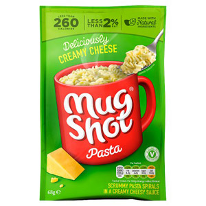 Mug Shot Pasta Snack Creamy Cheese