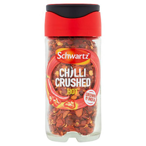 Schwartz Crushed Chillies Jar 29g