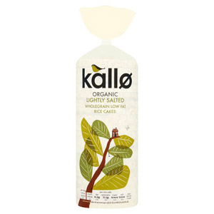 Kallo Thick Organic Rice Cakes
