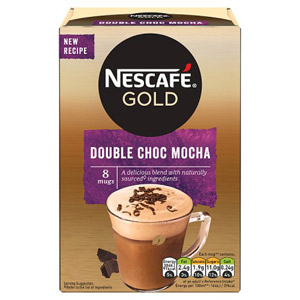 Nescafe Gold Double Choca Mocha 8 Sachets