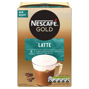 Nescafe Gold Latte Drink 8 Sachets