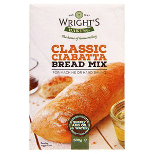 Wrights Ciabatta Bread Mix