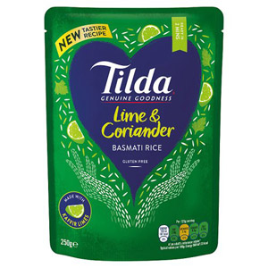Tilda Steamed Lime & Coriander Basmati Rice