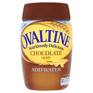 Ovaltine Chocolate Light Drink Add Water