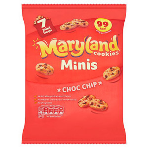 Maryland Mini Choc Chip Cookies 7 Pack