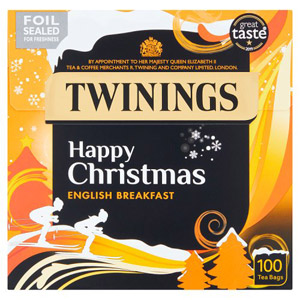 Twinings English Breakfast 100 Teabags