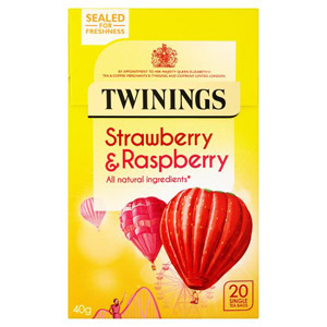 Twinings Raspberry & Strawberry Caffeine Free 20