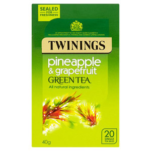 Twinings Green Tea with Pineapple & Grapefruit 20