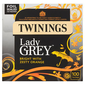 Twinings Lady Grey Teabags 100