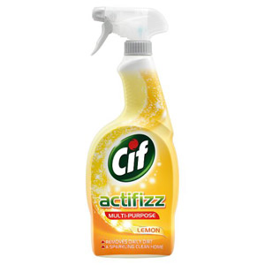Cif Multi Purpose Acti Fizz Lemon Spray