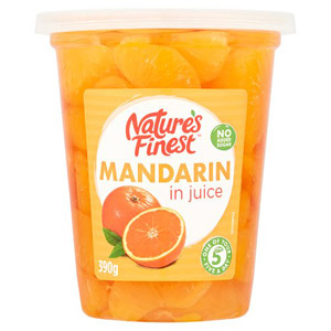 Natures Finest Mandarin Segments in Juice