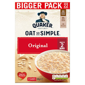 Quaker Oat So Simple Original 22 x 27g