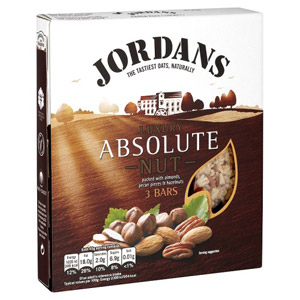Jordans Absolute Nut Bars 3 Pack