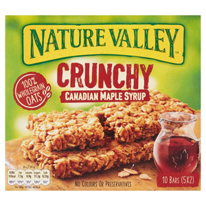 Nature Valley Granola Bars Maple Syrup