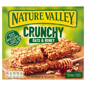 Nature Valley Granola Bars Oat and Honey 5 x 42g