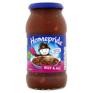 Homepride Beef and Ale Jar