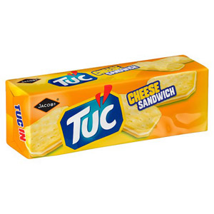 Jacobs TUC Cheese Sandwich