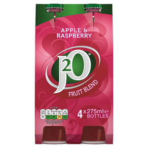 Britvic J2O Apple & Raspberry 4 x 275ml