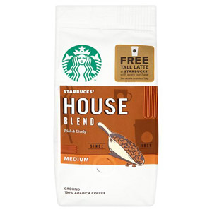 Starbucks Ground Coffee House Blend