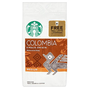 Starbucks Ground Coffee Colombia