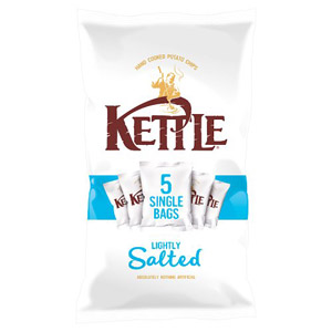 Kettle Lightly Salted Crisps 5 Pack