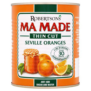 Mamade Prepared Oranges Thin Cut