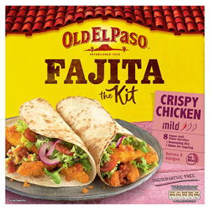 Old El Paso Crispy Fajita Chicken Kit