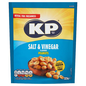 Kp Jumbo Salt and Vinegar Peanuts