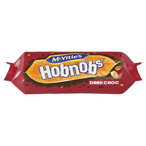 McVities Dark Chocolate Hobnobs
