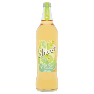 Shloer White Grape & Elderflower Juice
