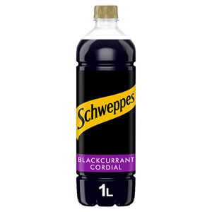 Schweppes Blackcurrant Cordial