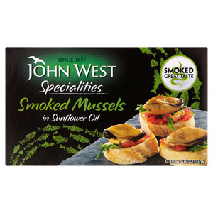 John West Smoked Mussels in Oil