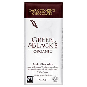 Green and Blacks Organic Dark Cooking Chocolate