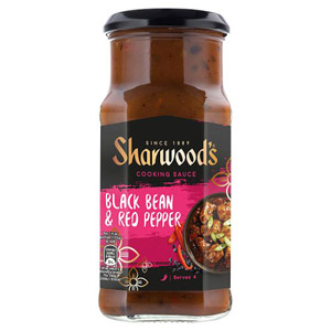 Sharwoods Cantonese Black Bean & Red Pepper Sauce