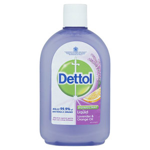 Dettol Disinfectant Lavender & Orange