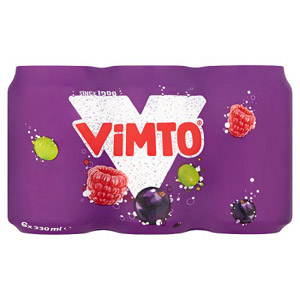 Vimto Mixed Fruit Drink 6x330ml