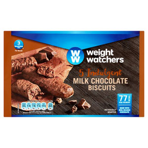 Weight Watchers Chocolate Biscuits 5 Pack 90g