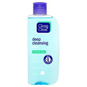 Clean & Clear Cleansing Lotion Sensitive